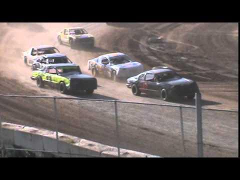 IMCA Stockcar Heat 2 Seymour Speedway 6/21/15