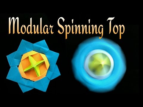 "Spinning Top / Beyblade"" -    ಬುಗುರಿ - DIY Tutorial by Paper Folds"