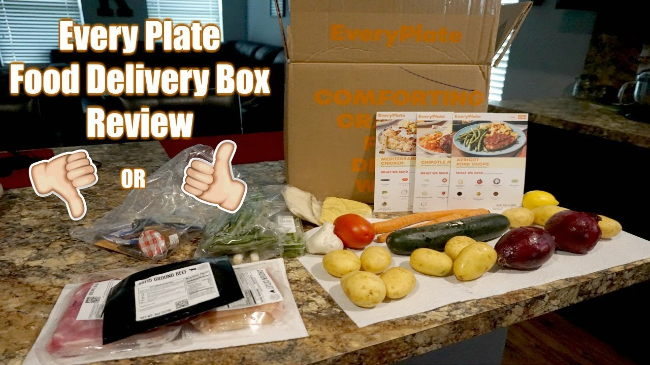 every plate food delivery box review youtube. Black Bedroom Furniture Sets. Home Design Ideas