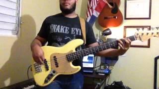 Todo Tiene su hora-Juan Luis Guerra (Bass cover/jam by: Joel Germoso)