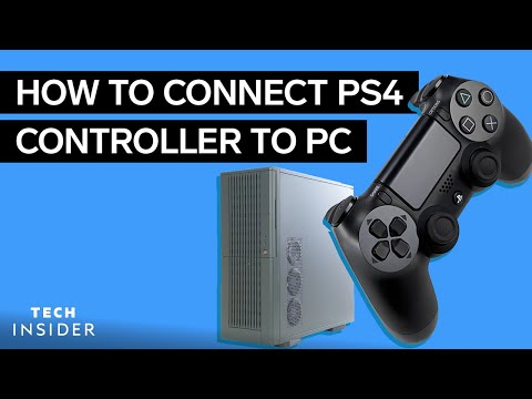 How To Connect Your PS4 Controller To A PC