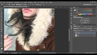 Видеоурок Photoshop Обработка зимней фотографии