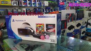 Sony VR Headset PlayStation 4 Price and Unboxing