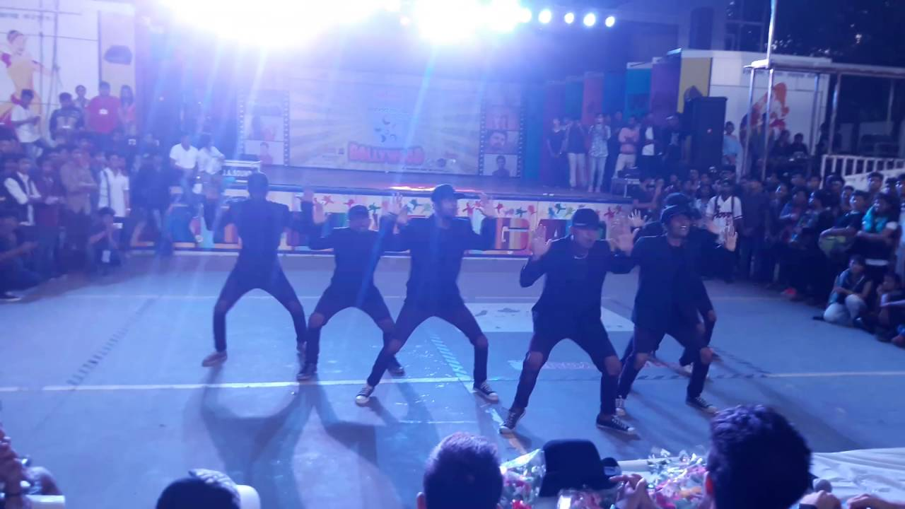 BLUE FIRE Dance crew perfoming @Brahmotsav gettin 2nd ...