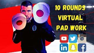 Virtual Pad Work   Boxing Training At Home