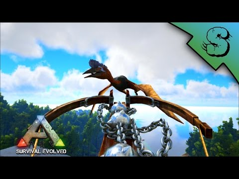 CHAIN BOLAS QUETZ TAME! GAS MASKS! TASTY CAKES! | Ark: Survival Evolved [S2E24]
