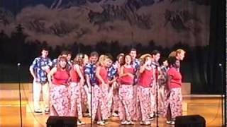 "New America Singers - ""Classic Disney Medley"" at Lijiang Cultural Center in China"