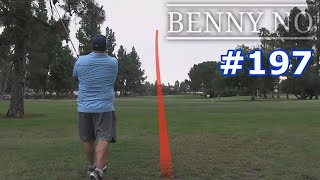 SHOT TRACER AND MY BEST NINE HOLES IN A LONG TIME! | BENNY NO | VLOG #197