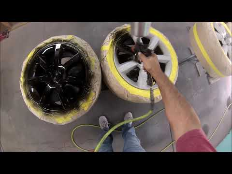 HOW TO PAINT YOUR RIMS