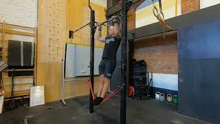 Band assisted pull-up