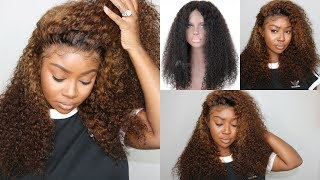 Lighten Extensions with 40 Developer Only (NO BLEACH NEEDED!) ft. RPGhair New 360 Curly Lace Wig