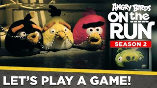 Angry Birds on the Run S2 | Let's Play a Game – Halloween Special