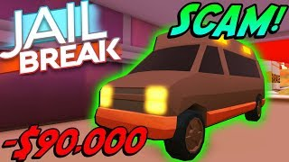 JAILBREAK AMBULANCE IS A SCAM! *SLOWEST VEHICLE*