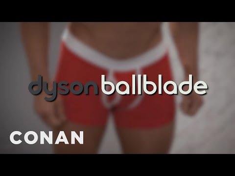 Introducing: The Dyson Ballblade  - CONAN on TBS