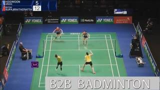 2017 yonex all england open r32 wd puttita sapsiree vs vivian hoo woon khe wei