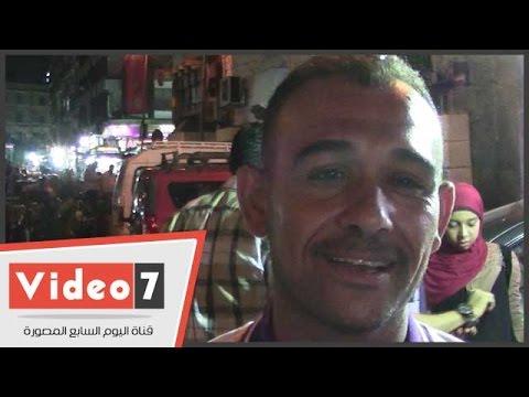 اليوم السابع : بالفيديو.. بائع يطالب بحل أزمة الباعة الجائلين بالعتبة