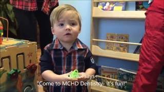 18 month-old Visits the Dentist