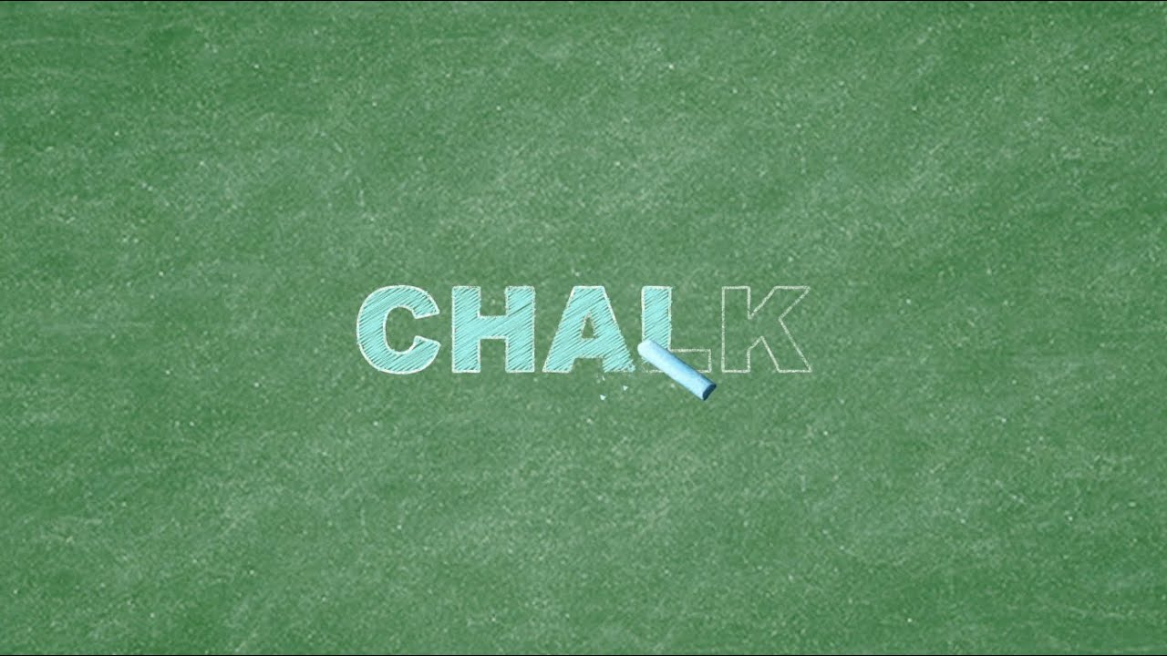chalkboard writing after effects tutorial polygon