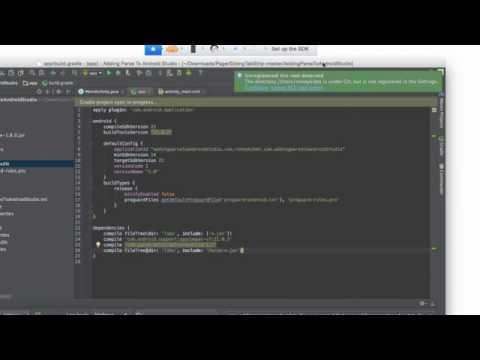 Adding Parse SDK To AndroidStudio With Gradle