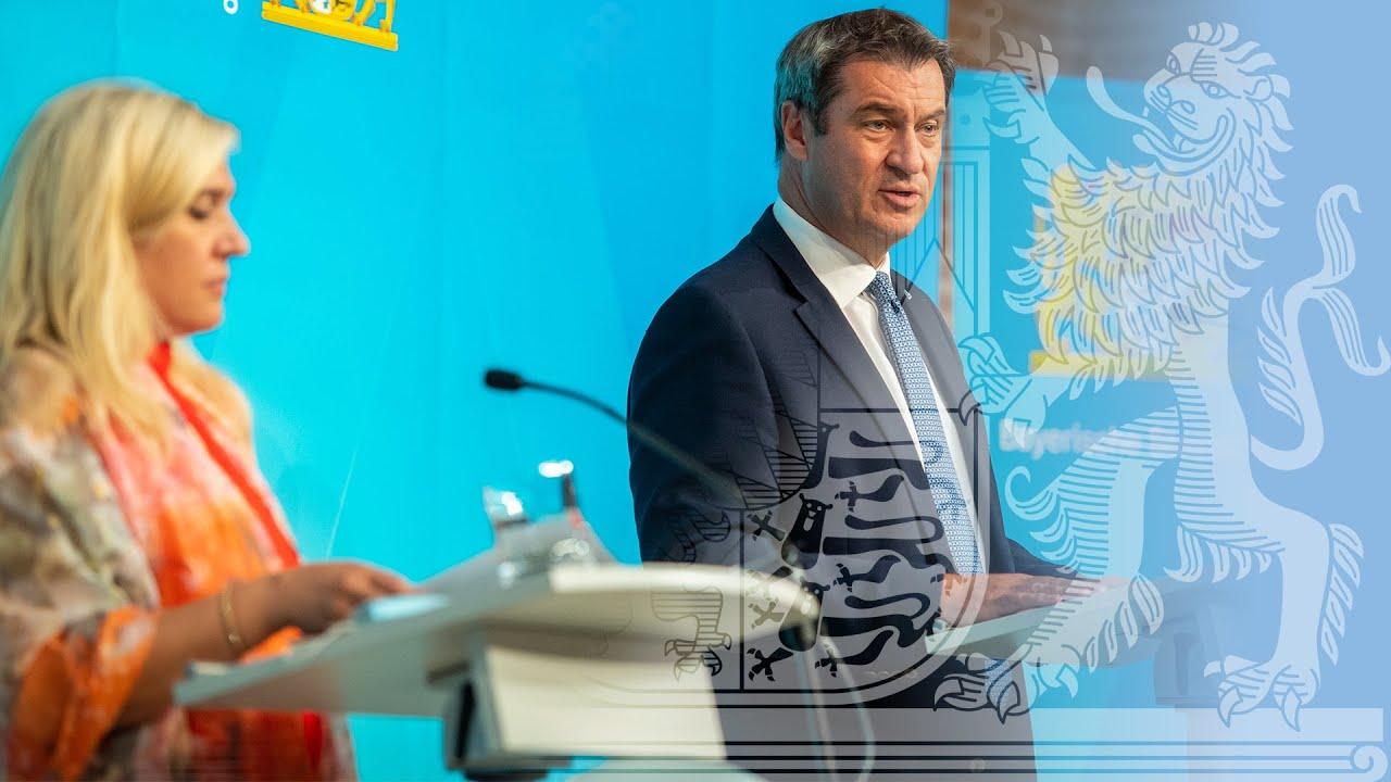 Pressekonferenz zum aktuellen Corona-Geschehen (13. August 2020) - Bayern