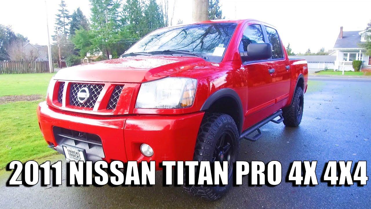 2011 titan pro 4x review