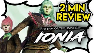 2 MIN REVIEW - Rhythm of the Universe: Ionia (Video Game Video Review)