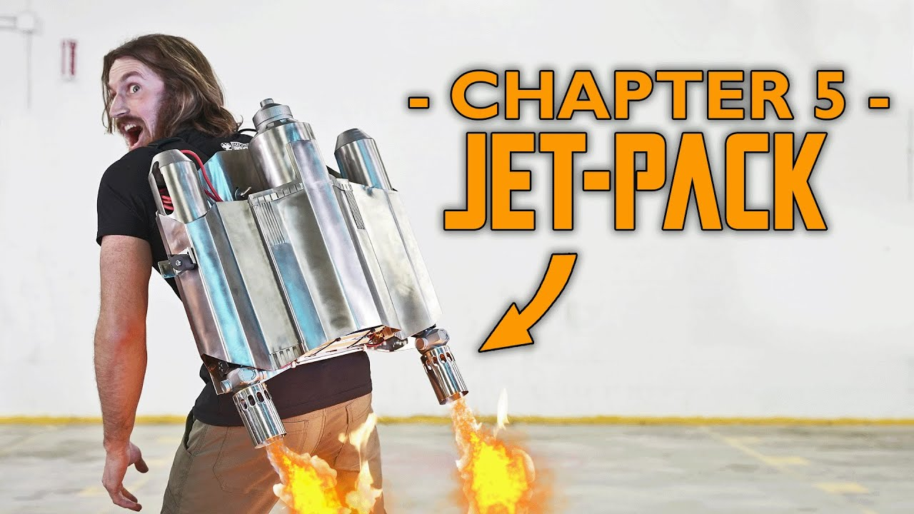 We BUILT a Mandalorian JETPACK! (HACKLORIAN: CHAPTER 5)