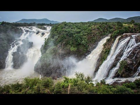 Shivanasamudra Water Falls in 4K | Shot on iPhone 6S