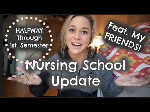 Surviving Your FIRST Semester of Nursing School | HolleyGabrielle: NS Life Series