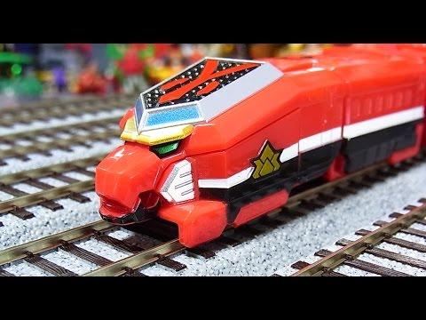 よみがえる烈車合体シリーズEX シンケンジャーレッシャー EX samurai train