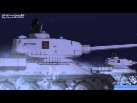 как японцы поют русские песни аниме Girls And Panzers