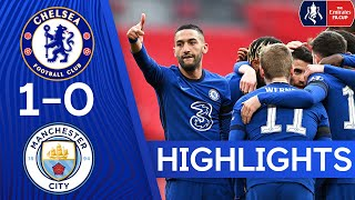 Chelsea 1-0 Manchester City | Ziyech Sends The Blues To The Final | FA Cup Highlights