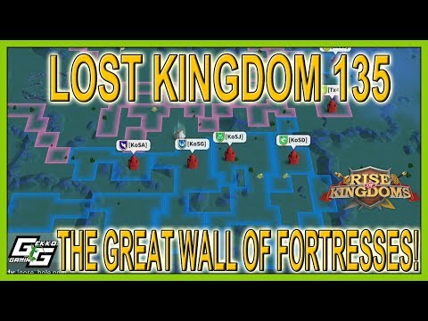 INTENSE 2X RALLIES - THE GREAT FORTRESS WALL OF LK135 - Rise Of Kingdoms