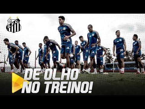SANTOS TREINA NO RJ ANTES DA PARTIDA CONTRA O VASCO! | DE OLHO NO TREINO (23/04/19)