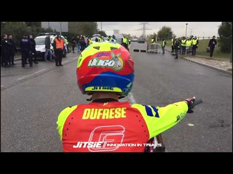 Hugo Dufrese at GILETS JAUNES protest