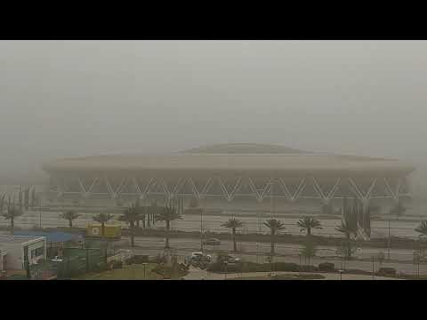 Dust Storm In Haifa, Israel, Mar 12, 2020