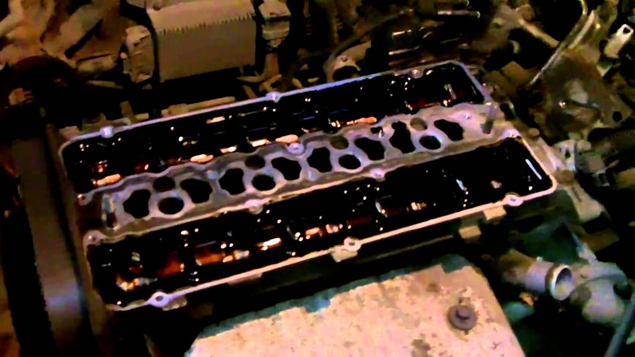 вскрытый двигатель 4G93 GDI (видео 3)
