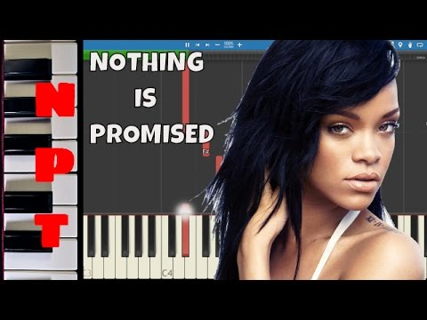 Mike Will Made It & Rihanna - Nothing Is Promised  - Piano Tutorial - Instrumental Remix