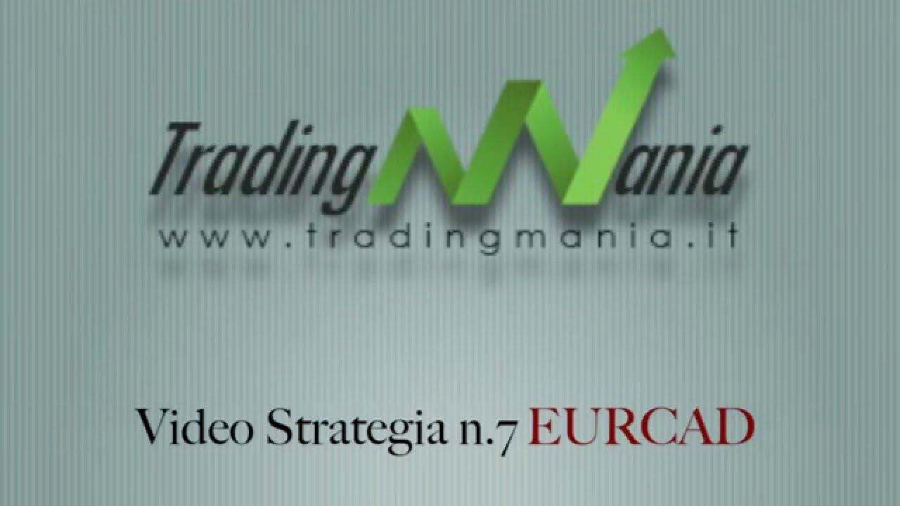 strategia di trading online su eurcad investimento bitcoin italia