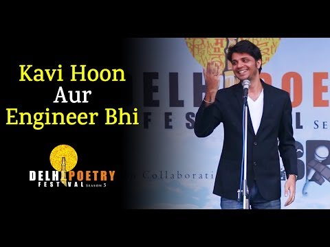 Vaibhav Gupta Sainik Poem | Funny Engineering Comedy | Valentine Comedy at Delhi Poetry Festival