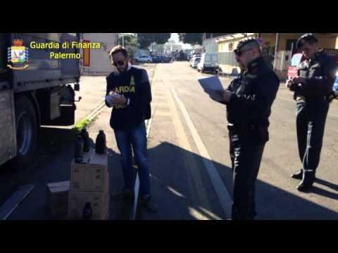 Palermo, olio per auto di contrabbando: sequestro della Finanza