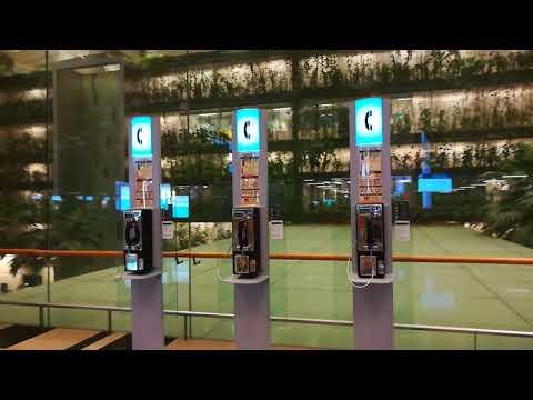 Changi Airport Singapore Worlds Best Top #1 International Airport *HD*