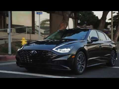 2020 Hyundai Sonata Headlights Tail Lights Youtube