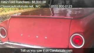 1962 Ford Ranchero  for sale in Nationwide, NC 27603 at Clas #VNclassics