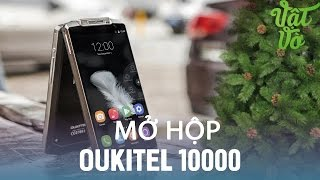Vật Vờ| Mở hộp Oukitel k10000 - smartphone dung lượng pin 10.000mAh