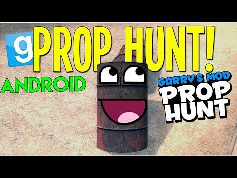 NGAKAK ! Game PC Kocak Versi Android ! - Garry's Mod Prop Hunt Android