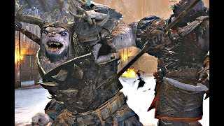 Shadow of War - Rare & Undead HIGH Level Boss Vs Boss Pit Fights CHAMPIONS