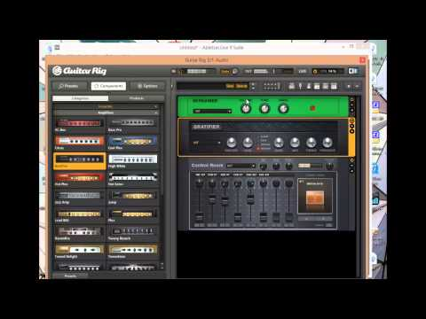 GTR RIG. part 2 - Making your own sounds in GR.