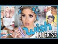 Trying WISH APP Beauty Gadgets 😫💬 5 UNDER $5