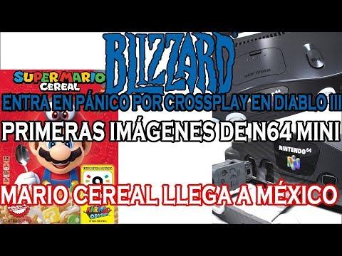 PRIMERAS IMÁGENES DE LA N64 MINI - BLIZZARD ENTRA EN PÁNICO POR EL CROSSPLAY EN DIABLO III